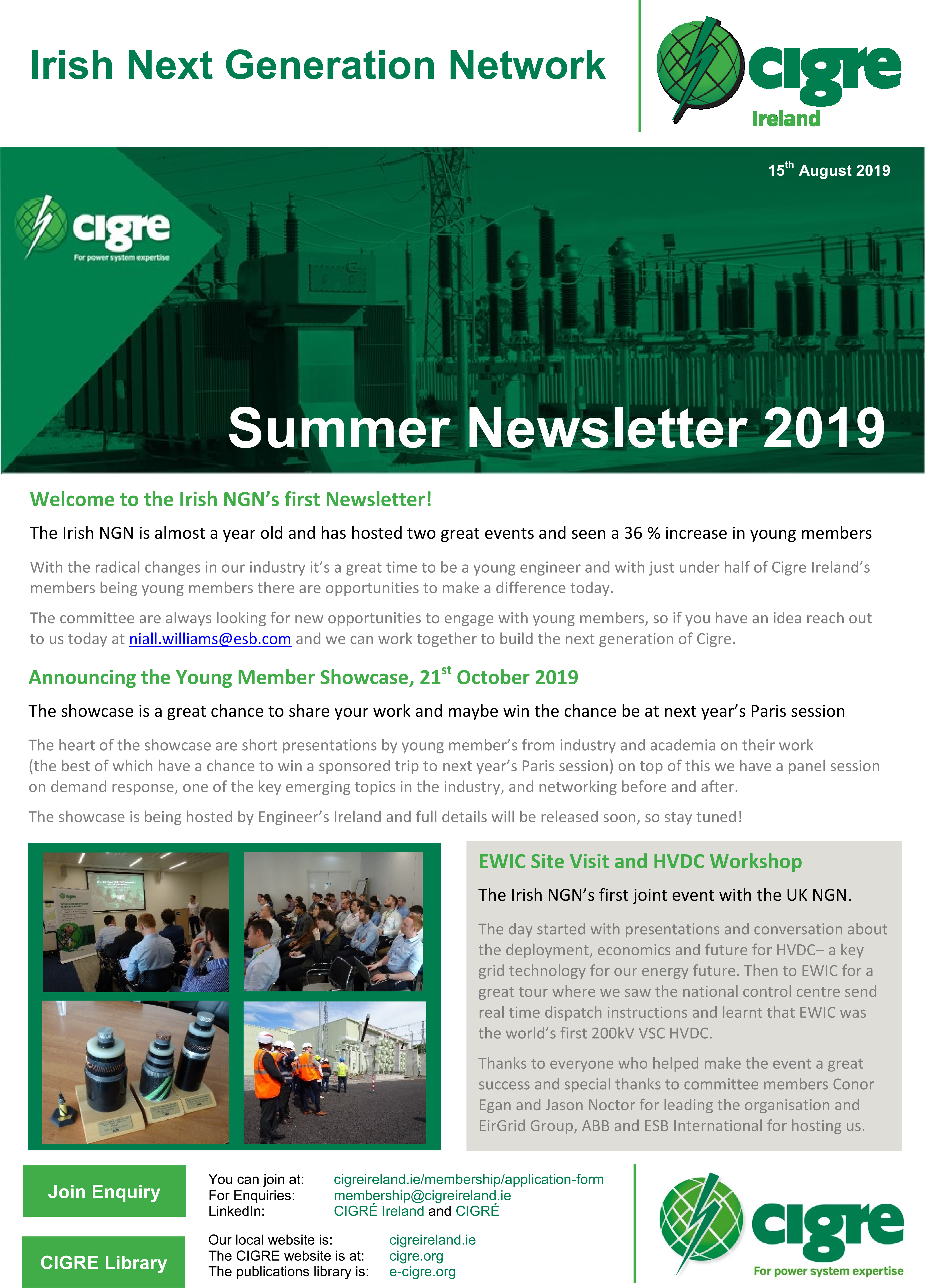 NGN Newsletter Summer 2019